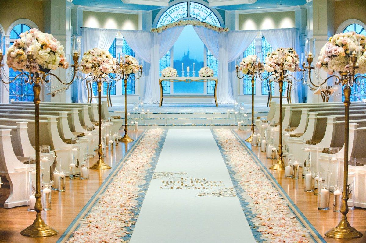 "Disney Weddings on Twitter: ""Final decor look this week at ..."