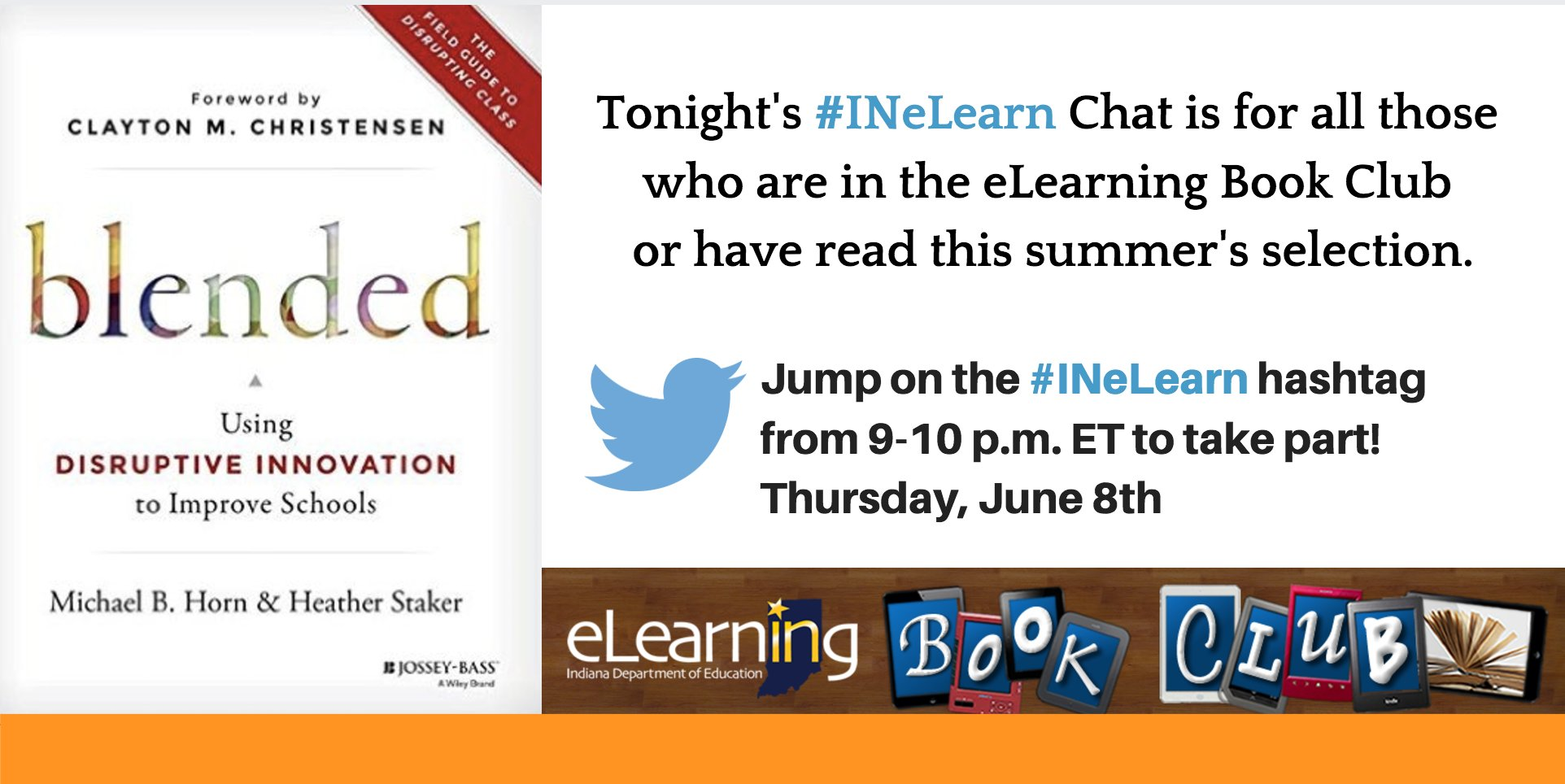 Thumbnail for #INeLearn Chat 6/8/17
