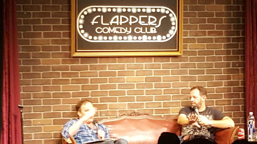 Love watching @ikpanderson and @jaymohr37 @FlappersComedy  get it in! #we #mohrstories<br>http://pic.twitter.com/ecLcT7ZUNb