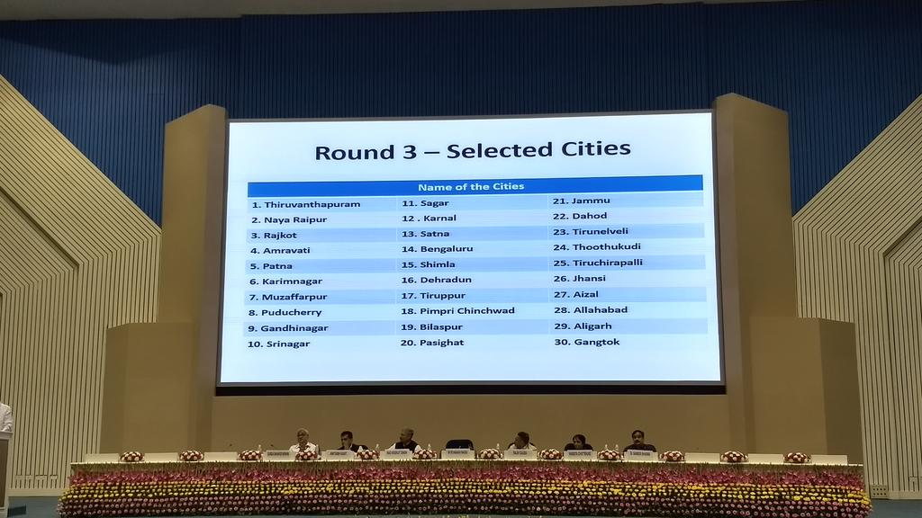 Smart Cities: Venkaiah Naidu announces third list