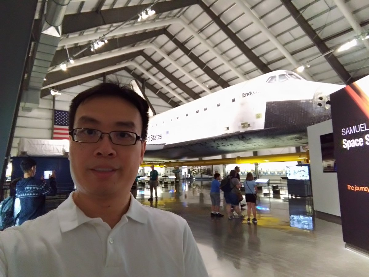 Got to marvel at this #Endeavour of human #imagination and #STEM today @casciencecenter!  Nice reminder of the need for inspiring education!<br>http://pic.twitter.com/uzEoPi4oki