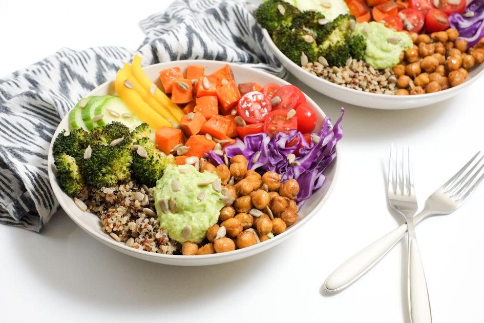 Rainbow Buddha Bowls for Kids!  http:// buff.ly/2sEBYk7  &nbsp;    #childhoodobesity #nutrition #healthy #parents #food<br>http://pic.twitter.com/FWBnV1RqfC