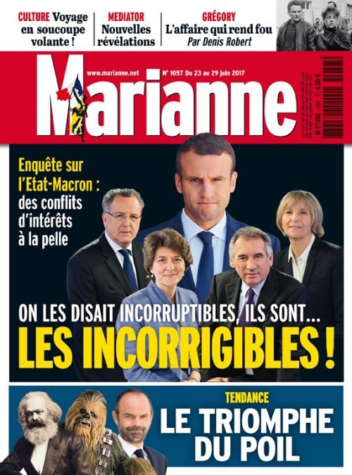 Marianne est en kiosques ! #VendrediLecture >> https://t.co/Nx0p...
