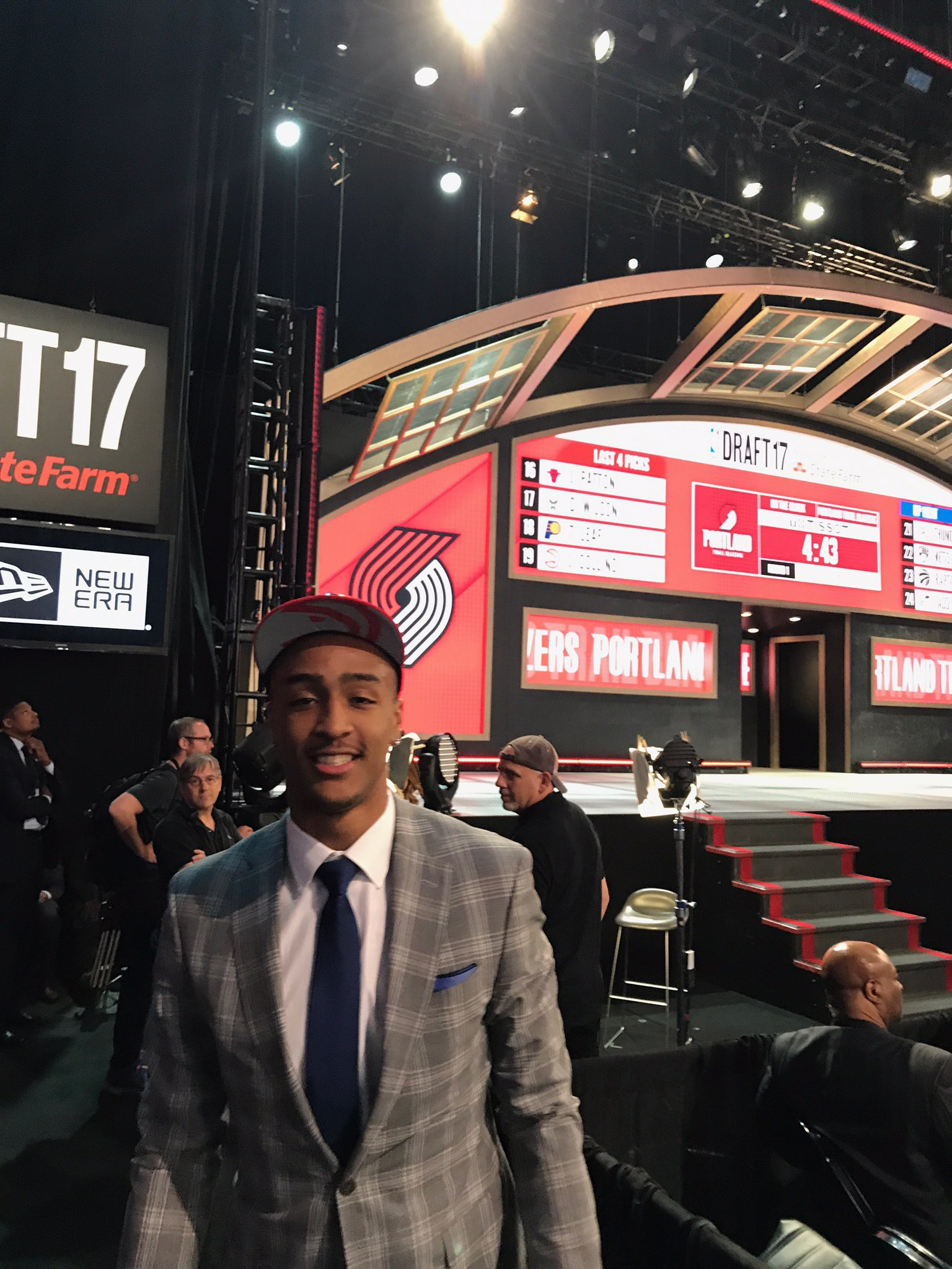 Thumbnail for Hawks Fans React To 2017 NBA Draft