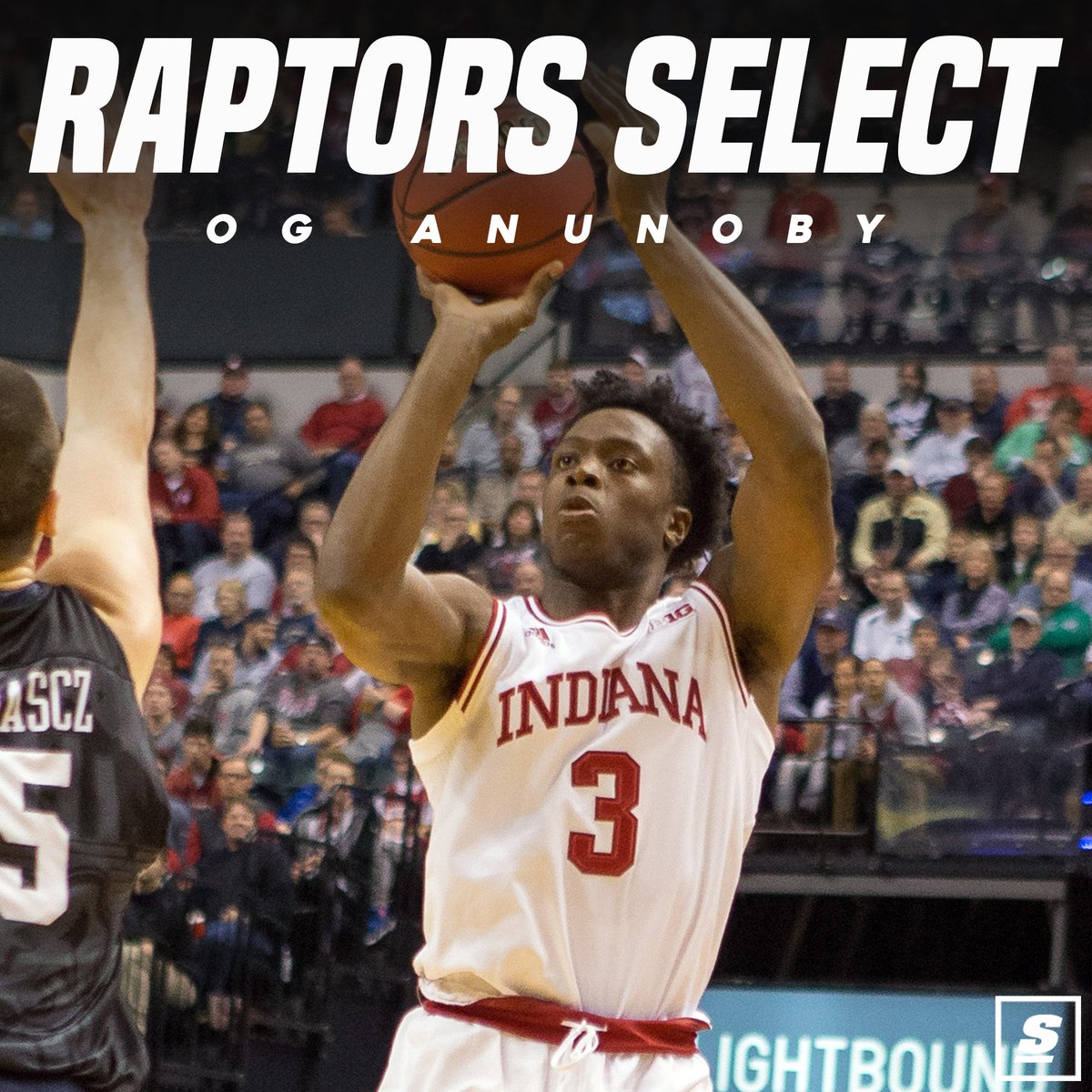 Raptors select OG Anunoby 23rd overall in the NBA Draft. https://t.co/...