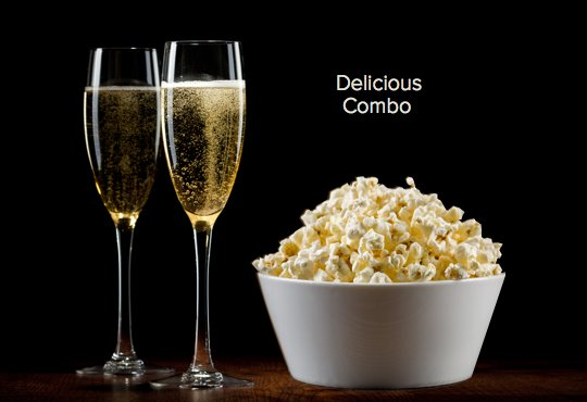 Next time you&#39;re watching a movie try this magic combo: Champagne and Popcorn! #wine #winechat #champagne<br>http://pic.twitter.com/r8JcRHUPeR