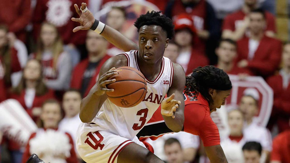#Raptors select Indiana forward OG Anunoby with 23rd-overall pick in #...