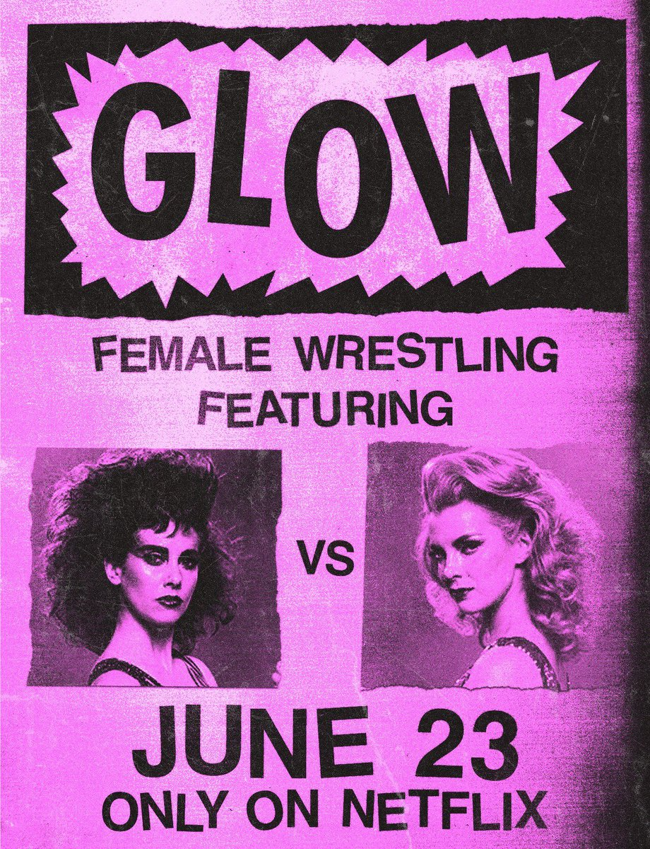 Ladies' night. #GLOW arrives 12am PST https://t.co/cEbqhmTacn