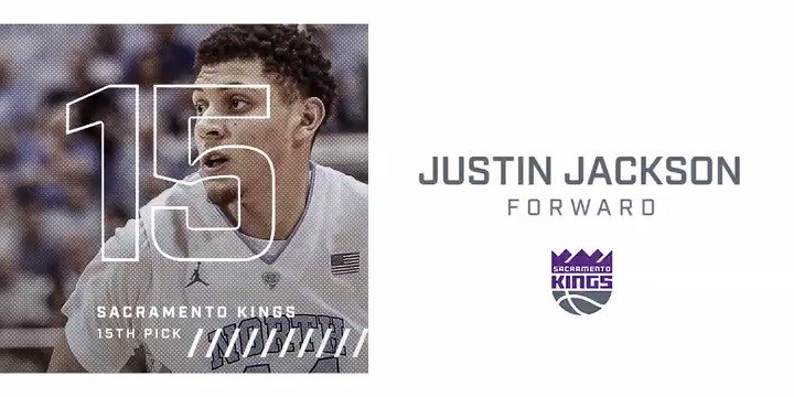 This Just-in...the Kings have acquired the No. 15 pick, @JJacks_44! 👑...