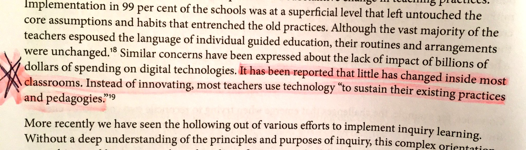 #SAMR- using new technology to support told practice. Superficial 21st Century Classrooms #ThinkingClassrooms @ggininewman @TC2thinks #sgdsb https://t.co/vcgZfigyNu