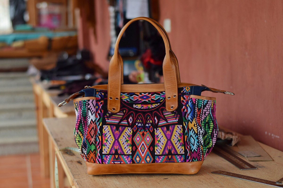 Guatemala Bags On Twitter Huipil Convertible Guatemalabagsgb Leather Typical Artesan Etnic