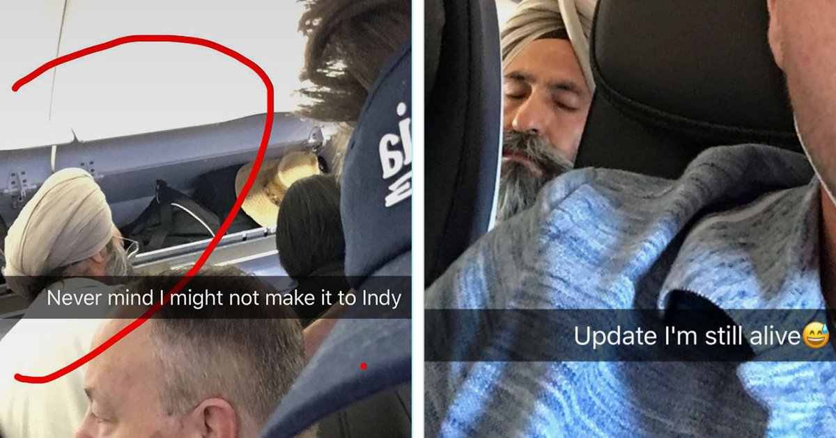 This thread shows what happens If you 'look Muslim' on a plane https://t.co/NKAqRCOJpG