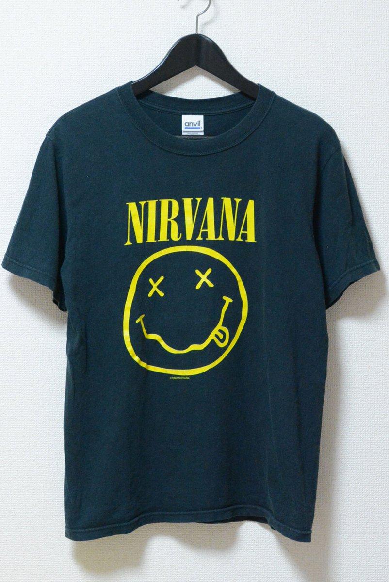 NIRVANA 90&#39;s SMILEY MARK Tee  http:// jeudi-japan.com/?pid=119442227  &nbsp;    http:// jeudi-japan.com / &nbsp;   #USED #VINTAGE #古着 #Nirvana #カジュアル #ファッション #セレクトショップ #jeudi <br>http://pic.twitter.com/uswxmLBTc7