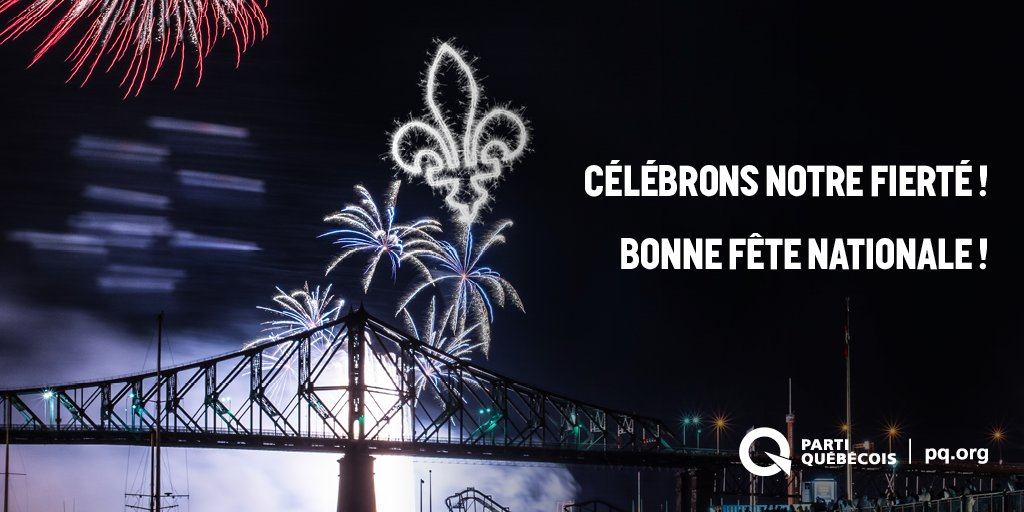 Bonne #fetenationale du Québec! Célébrons et soyons fiers de notre mag...