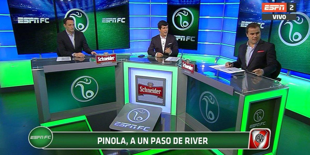 #Ahora, en #ESPNFC, por ESPN 2 o @ESPNPLAY. Javier Pinola está a un pa...