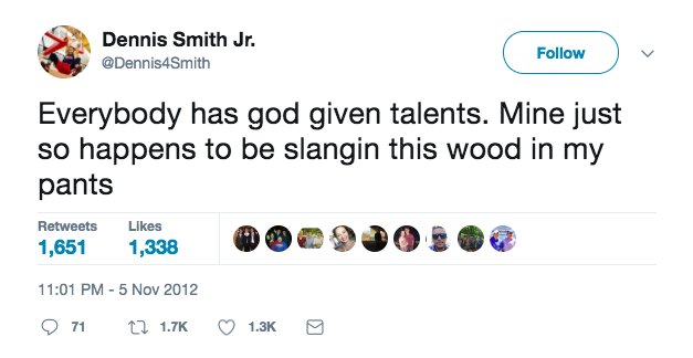 """Tyler Brooke on Twitter: """"Apparently Dennis Smith Jr was """"slangin this wood  in his pants"""" at 14 years old.… """""""