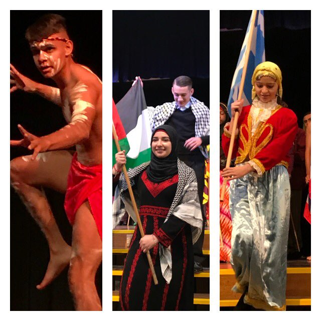 In courage let us all combine. Chester Hill HS proudly celebrates cultural diversity. #FlagDay #DoE #PublicEducation<br>http://pic.twitter.com/R10DutmG9n