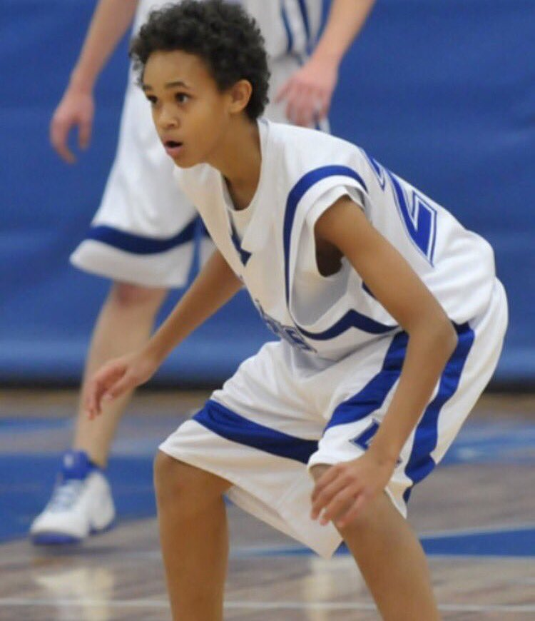 This is Derrick White in high school. He didn't have a D-I offer. Now...