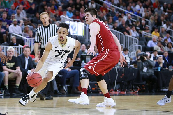 And here is your #Spurs pick, 29th overall: Colorado guard Derrick Whi...