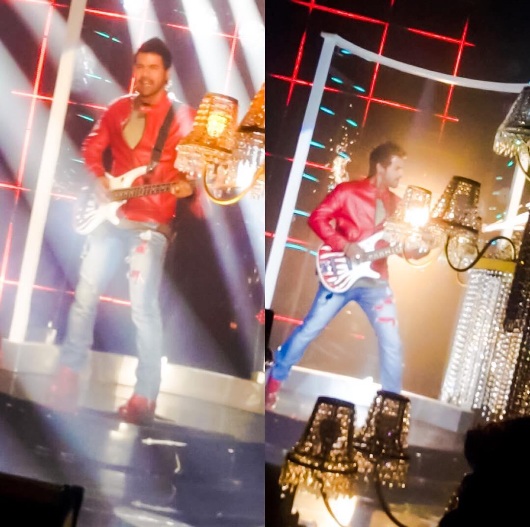 The Rockstar charm  #highonenergy #highonlife #yetgrounded #coolestofall #bestalways #shabirahluwalia #promoshoot #spinoff #KKB #KDB #abhi<br>http://pic.twitter.com/JA3Dbe8SJg