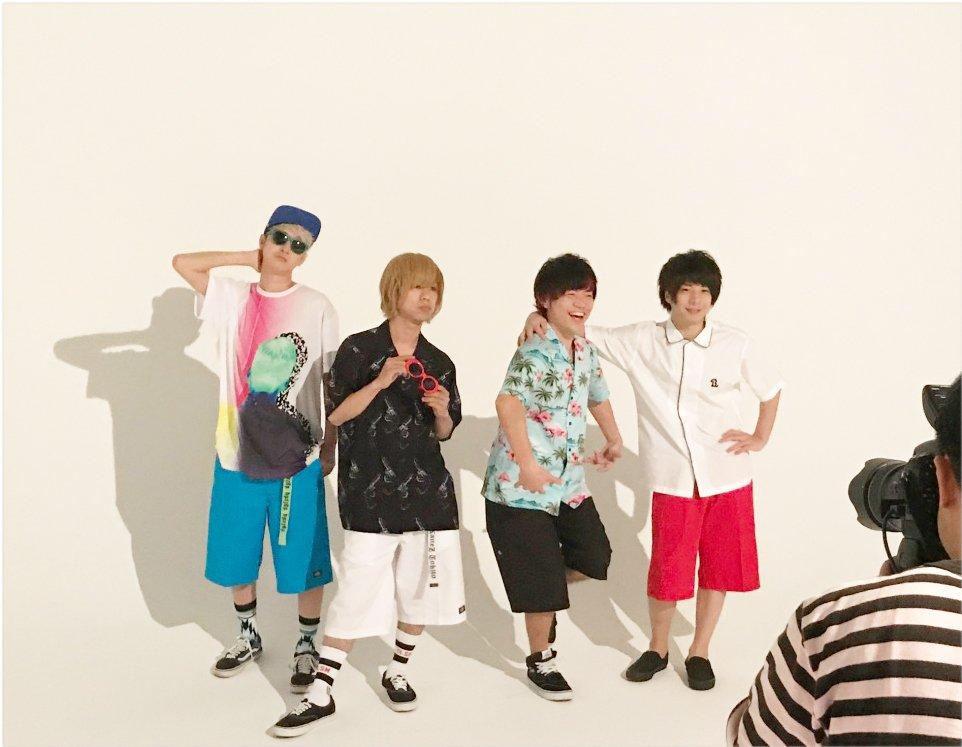 6/30(金)発売のROCKIN'ON JAPANでKEYTALKさんに42283ショーツを着用頂いております! みなさま、お楽しみに!! https://t.co/081pvmgmxg