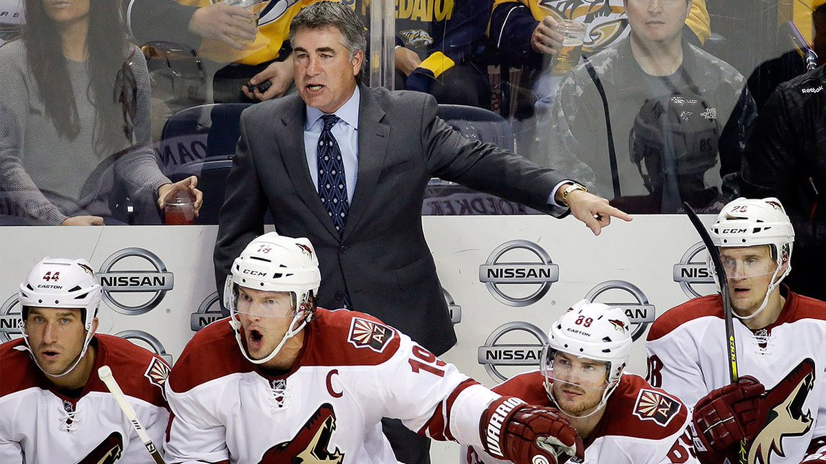 After eight seasons the Arizona Coyotes and head coach Dave Tippett ar...