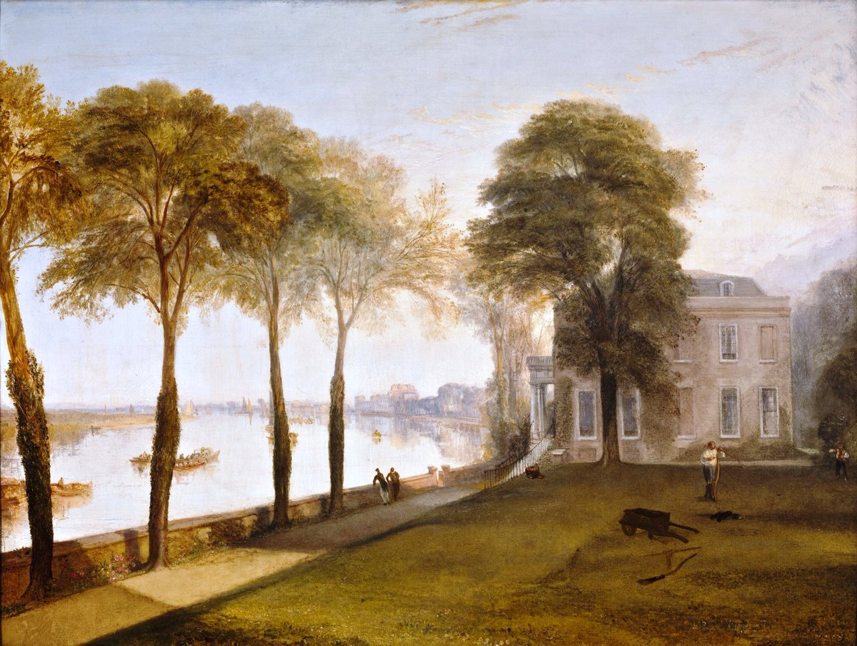 #Academism  Joseph Mallord William #Turner  Mortlake Terrace,Early Summer Morning,1826  Bgiorno @Asamsakti @GaiaGaudenzi @tizianacampodon<br>http://pic.twitter.com/mcBOnTFSiR