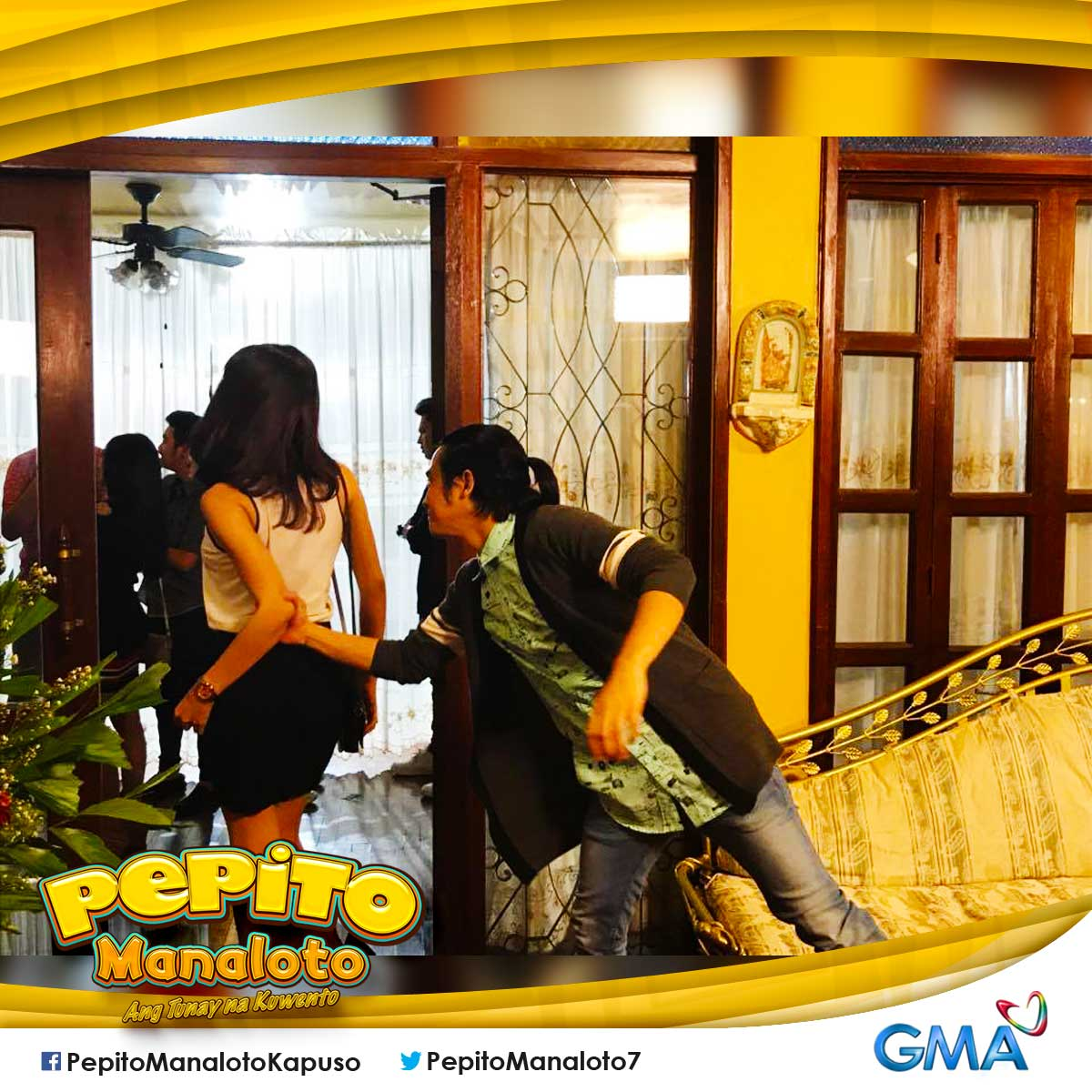Oh no! Bakit nag-walk out si Nikki?! Ano\'ng ginawa mo, Chito?  #PepitoErikaReturns #ChiNikki   @MyJaps