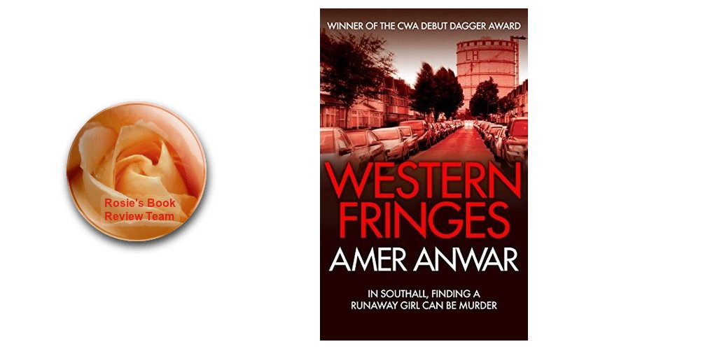 Rosie&#39;s #BookReview Team #RBRT Sandra reviews #crime #Thriller Western Fringes by @ameranwar #fridayreads  http:// wp.me/p2Eu3u-a46  &nbsp;  <br>http://pic.twitter.com/Y75nC8kAsQ