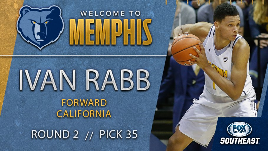 The @memgrizz are on the board, selecting @calmensbball standout Ivan...