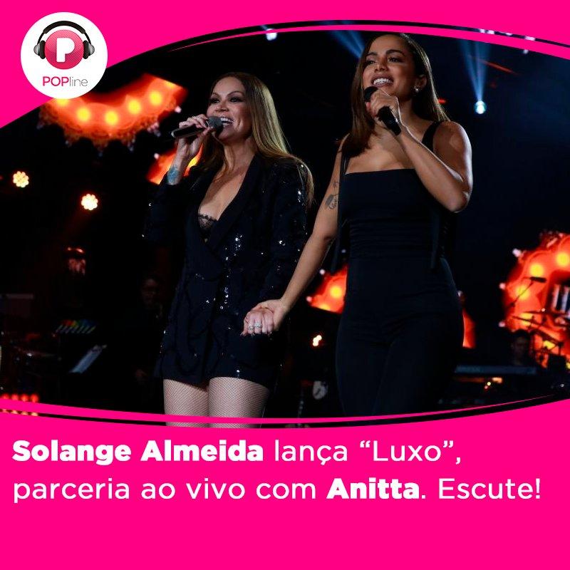 Vem ouvir o samba de @SolAlmeidaa com @Anitta, 'Luxo'! Confira: https:...