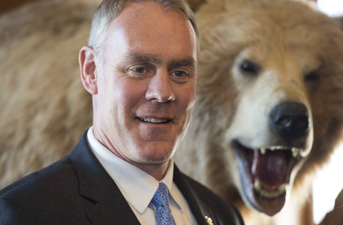 U.S. Interior Sec. Zinke clueless on #climate change | @climateprogress  http:// crwd.fr/2sFlHcz  &nbsp;   #globalwarming #divest<br>http://pic.twitter.com/C2nKY038ls