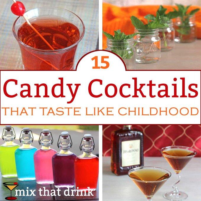 15 Candy Drinks that Taste Like Childhood Treats