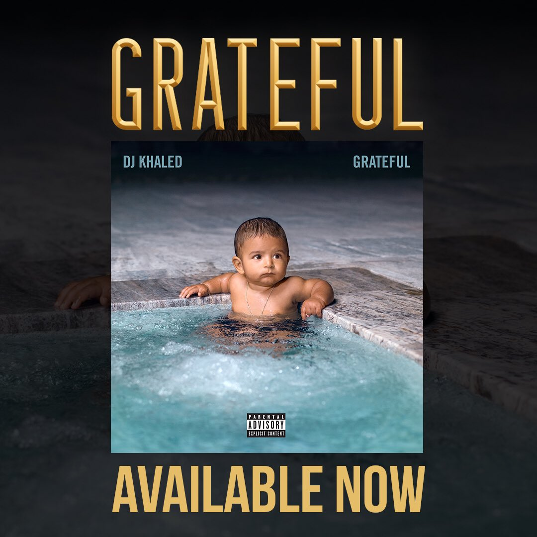 Available everywhere! #GRATEFUL ! Now! 🔑 https://t.co/BPYnb7KGoM
