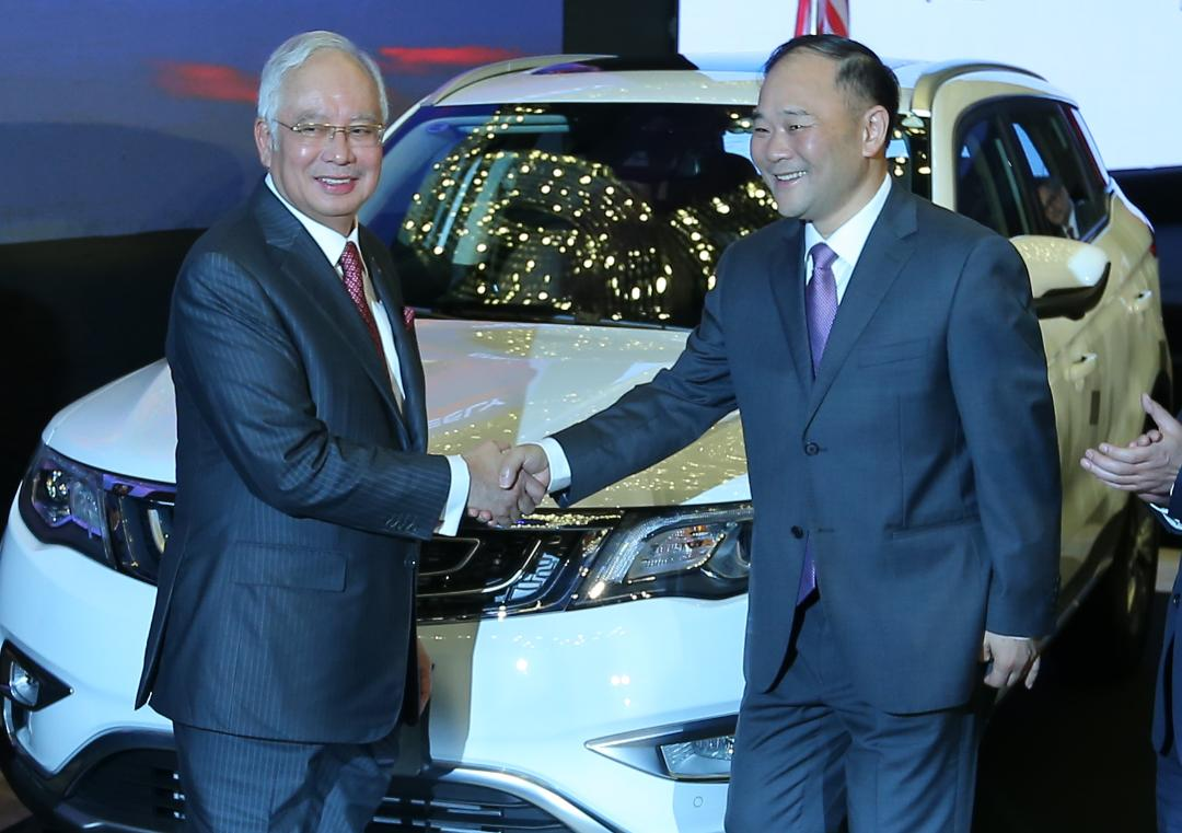 proton s first suv https www nst com my news nation 2017 06 251498 drb hicom geely formalise sale proton holdings pm launches protons first boyue