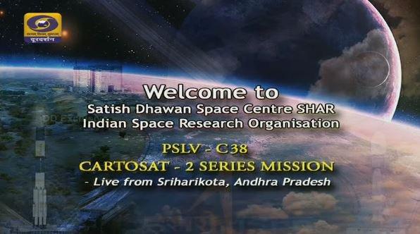 #ISRO's Cartosat-2E satellite launch on board #PSLVC38  WATCH LIVE NOW...