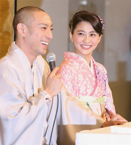 """小林麻央さん死去 海老蔵さん支えた""""梨園の妻"""" 「笑い声が絶えない明るい家庭を築けたら」 暴行事件など難局、夫婦で乗り越え https://..."""