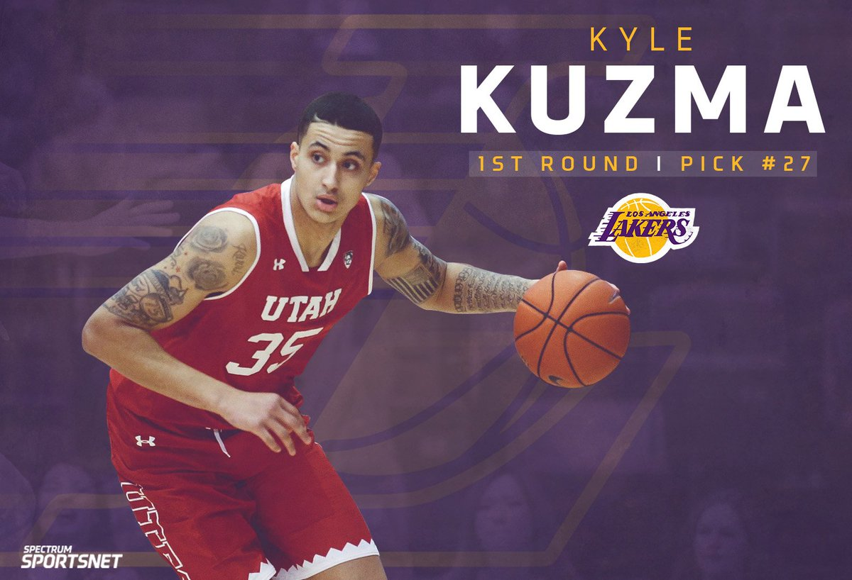The #Lakers acquire Kyle Kuzma, @JoshHart_3 & Thomas Bryant in the...