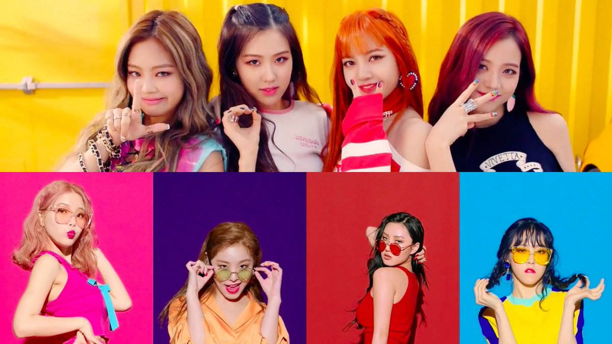 #BLACKPINK And #MAMAMOO Take Over The Charts With New Tracks https://t...