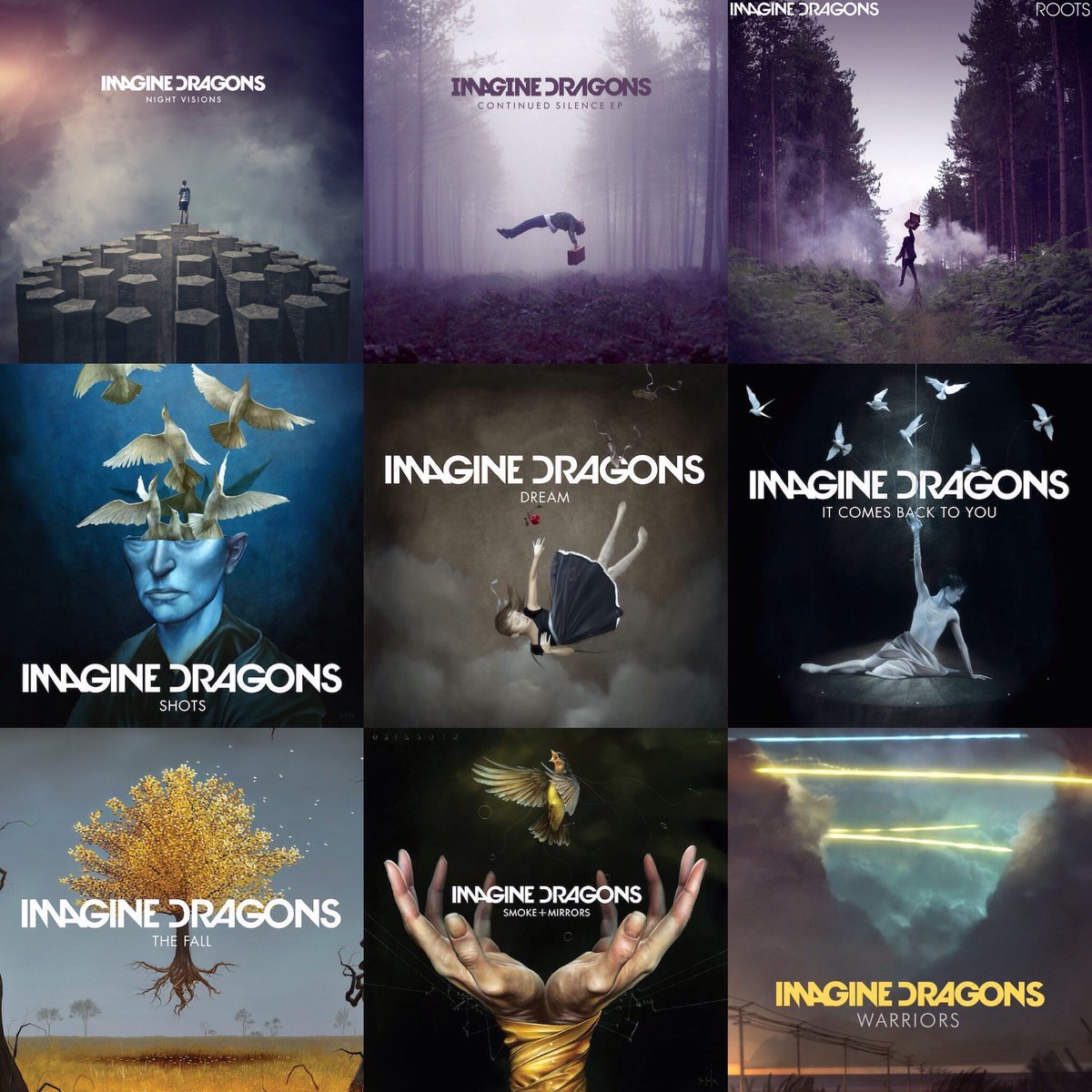 I say masterpiece then you say imagine dragons's music's covers #Imagi...