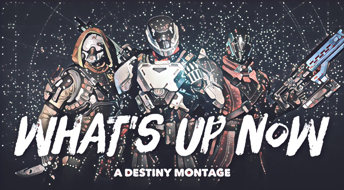 https:// youtu.be/yW1AitsQlm4  &nbsp;   the 1 of 2 of my #destinythegame Montages. Finally starting my #Destiny @YouTube #Gaming Channel. Look out #Destiny2<br>http://pic.twitter.com/8Oxu3qFK1n