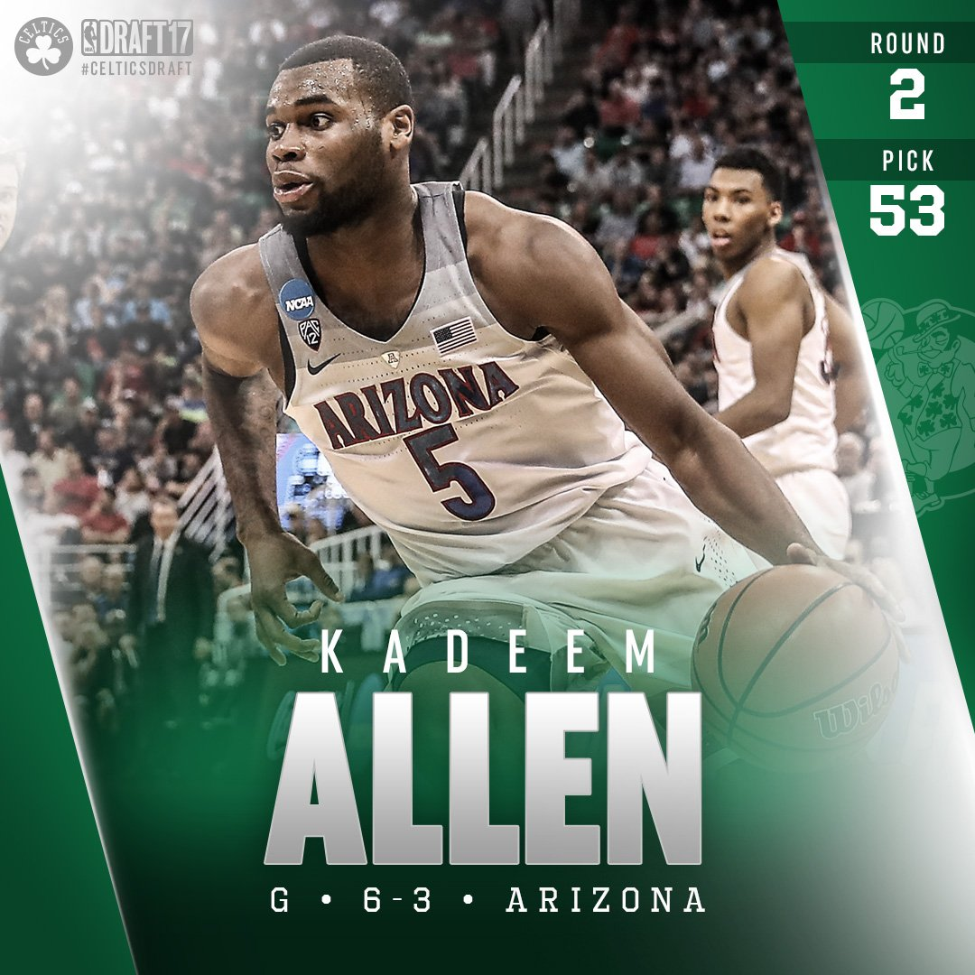 Welcome to Boston, Kadeem Allen! #CelticsDraft