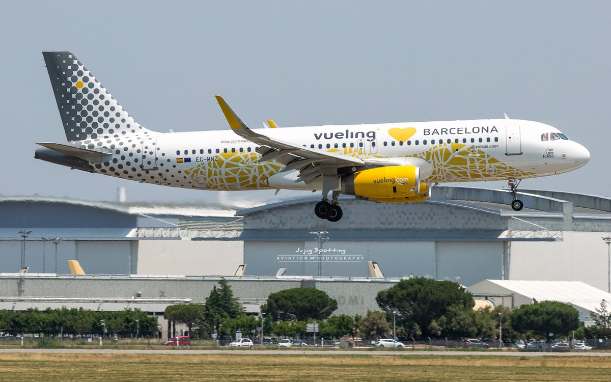 Still a nice visitor yesterday ! #Airbus #A320 Vueling &quot;#Love #Barcelona&quot; #Avgeeks #Toulouse <br>http://pic.twitter.com/86PsjJ3Eq9
