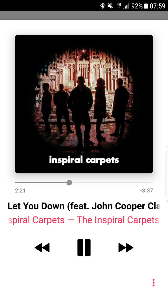 You know it&#39;s going to be a good day when you press shuffle and this is 1st up @inspiralsband and Craig Gill in full flow #moo <br>http://pic.twitter.com/XWxtKNmIoL