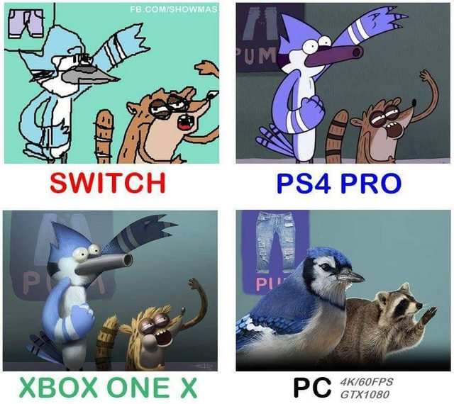 I enjoy them all but this is funny  #sony #Microsoft #Nintendo #pcmasterrace<br>http://pic.twitter.com/BwBAsWLVK1
