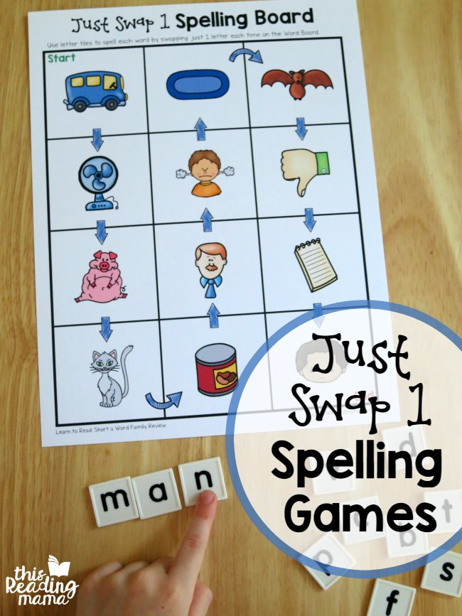 JUST SWAP 1 CVC GAMES: Great for helping kids listen to sounds in simple words!  http:// buff.ly/2sMHWAd  &nbsp;   #cvc #phonemes #spelling<br>http://pic.twitter.com/YsqjoJ85zB