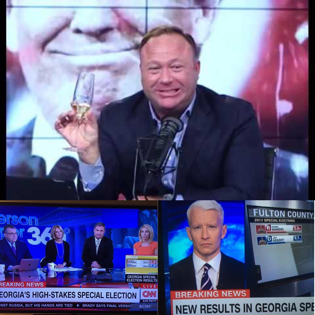 Never tired of #winning. #Covfefe #MAGA  @RealAlexJones @CNN #andersoncooper <br>http://pic.twitter.com/de27HoqHis