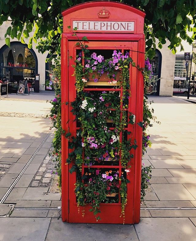 #TelephoneBox #flowers, #Bath #Spa Town. #ArturoLavinVilla @touring_britain #LoveBritain #lifestyle<br>http://pic.twitter.com/puKKNfIYqI