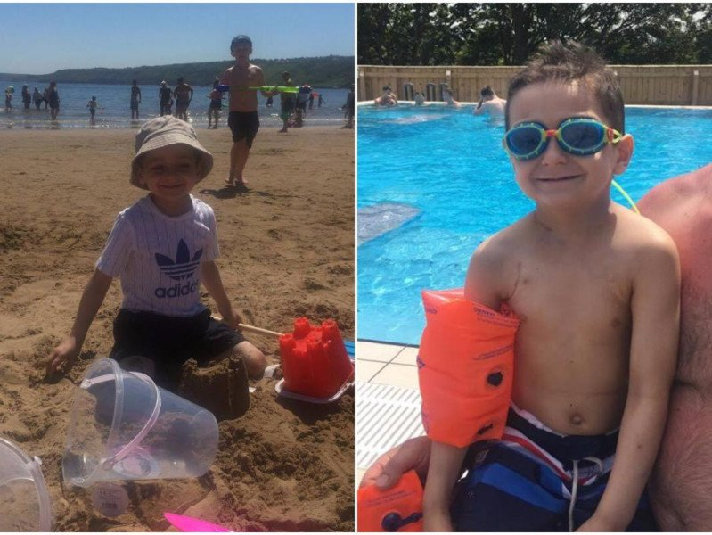 Bradley Lowery is having a 'fantastic time' on holiday in Scarborough. We 💛 the photos   https://t.co/MDS5Na7PVh