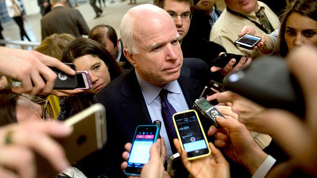 McCain: Americans haven't seen the GOP healthcare bill, but I'm sure Russia has https://t.co/VGnq93meVg